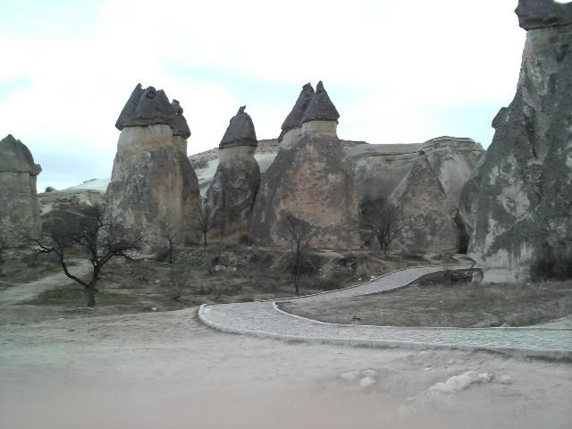 これがカッパドキアの奇岩