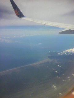 リオデジャネイロを出て南米大陸