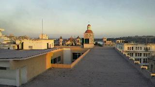 ハバナのホテルのテラスの眺め